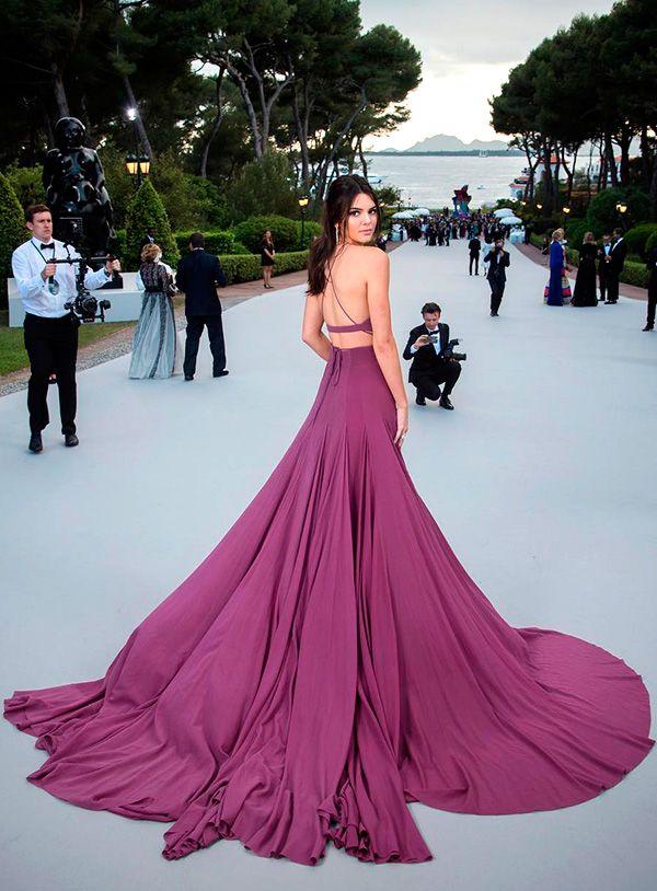 Cannes 2015: vestidos coloridos - Constance Zahn   Rojo y Vestiditos