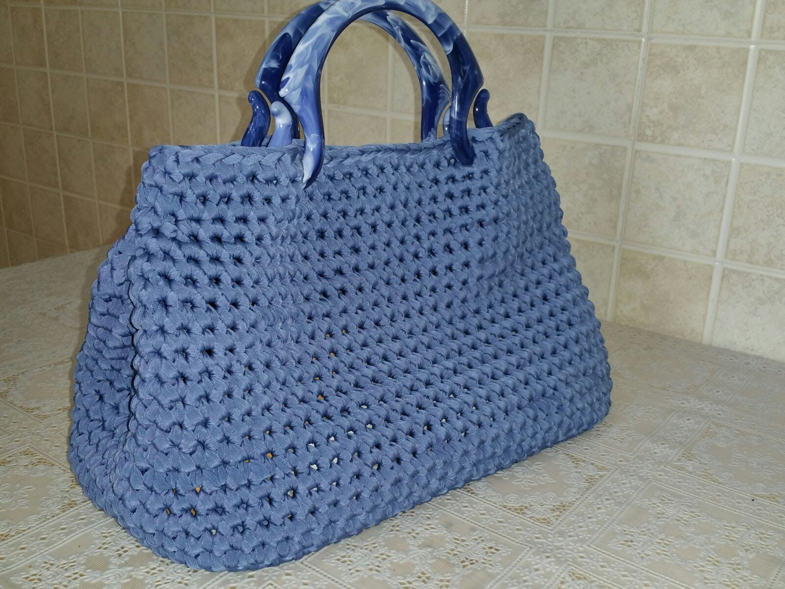 Borsa Marin 1a Parte τσάντες Pinterest Crocheted Bags