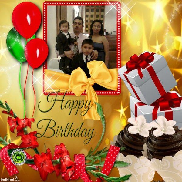 Happy Birthday! mi hermano Dios te bendiga hoy y todos los dia para felicidad de todos los que te queremos eres muy especial para todos nosotros te amamos    besos,,,,,,,   :)