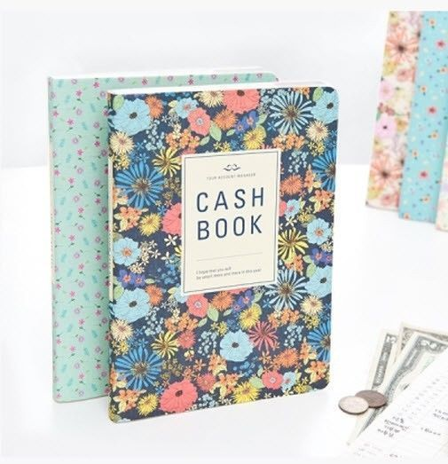 ardium cash book money record planner diary account notebook
