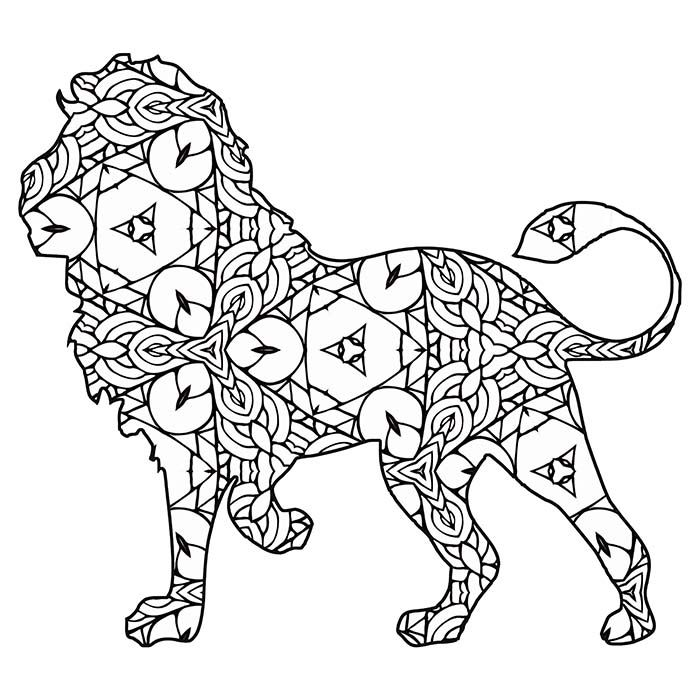 30 Free Printable Geometric Animal Coloring Pages The Cottage Market Geometric Animals Geometric Coloring Pages Coloring Pages