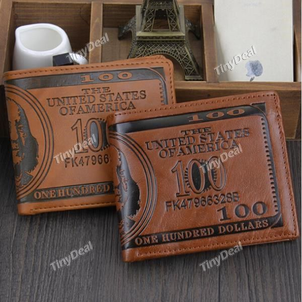 """Casual \""""$ 100\"""" Printing Retro Style Purses DTH-367954"""