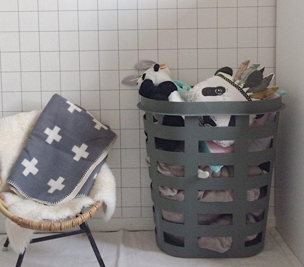 Opgeruimd Staat Netjes Hay Laundry Basket Met Afbeeldingen