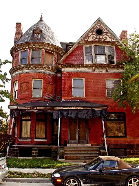 Donaldson House (82 Alfred), Brush Park, 2007 in 2019