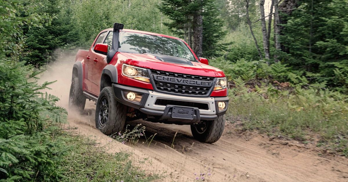 2019 Chevrolet Colorado Zr2 Bison Off Road Pickup Truck Debuts