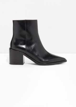 best block heel booties