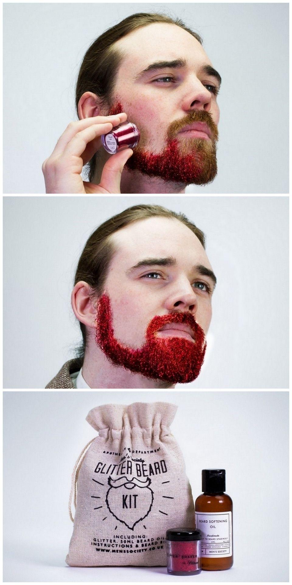 Diy glitter beard just for fun pinterest glitter beards diy glitter beard solutioingenieria Gallery