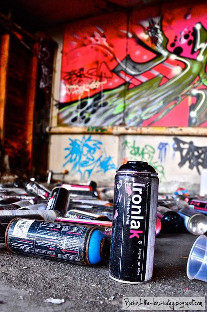 ironlak closeup can warehouse
