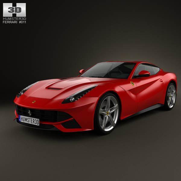 3d Model Of Ferrari F12 Berlinetta 2012 Avtomobili