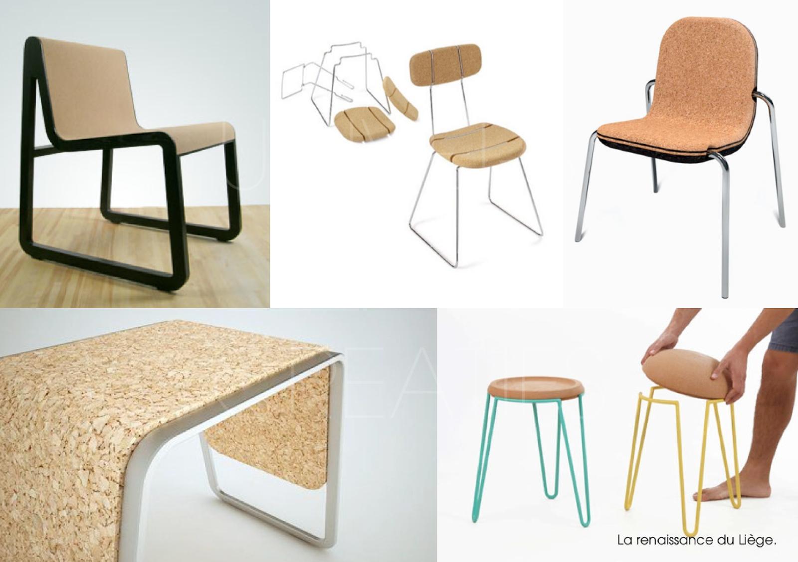 La Renaissance Du Liege 3 Liege Mobilier Design Chaise Design