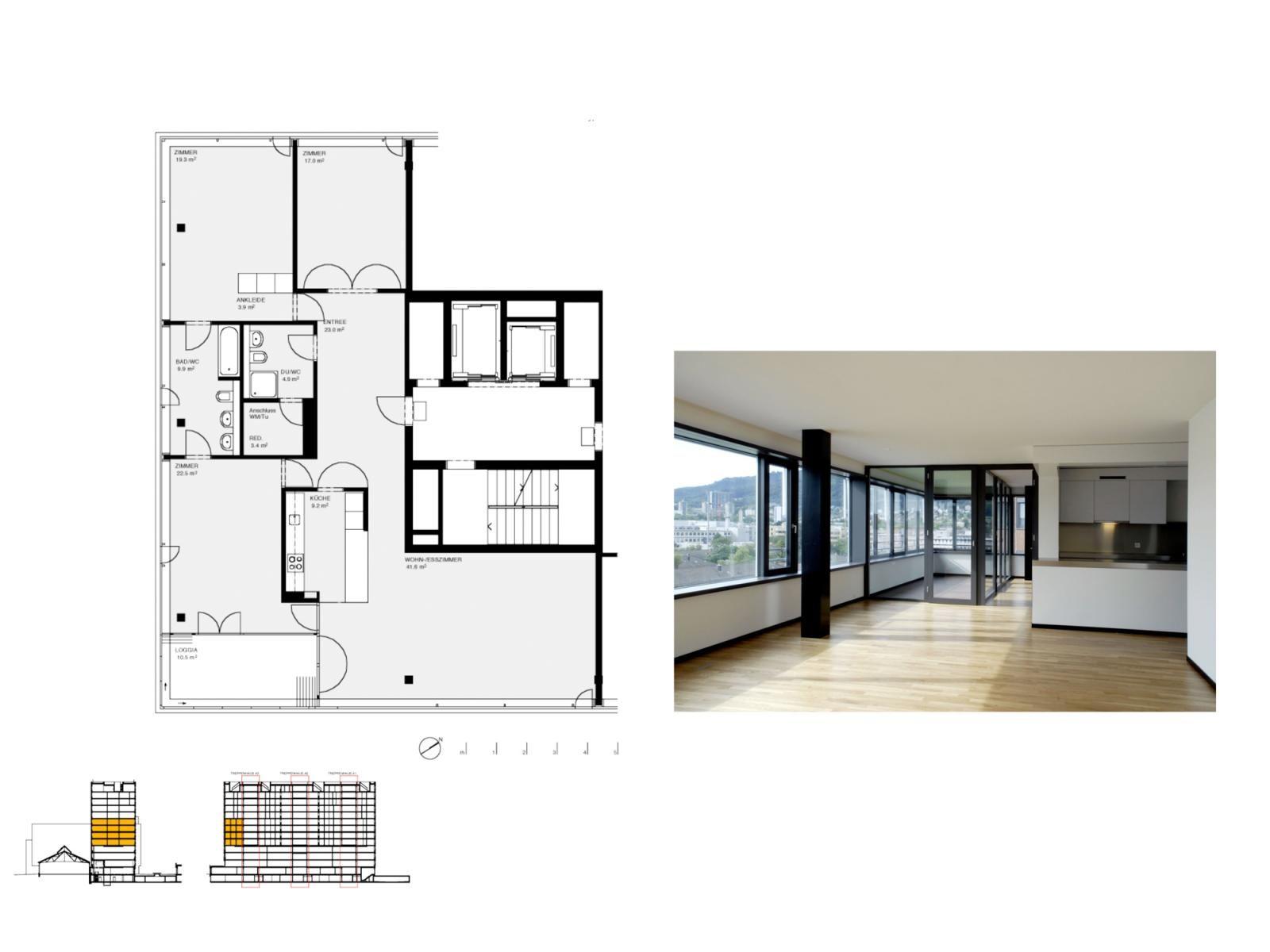 Wohn und geschaftsuberbauung james zurich gmur geschwentner architektur bau berbauung - Gmur architekten ...