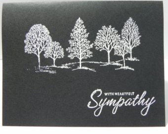 Lovely As A Tree Sympathy Card
