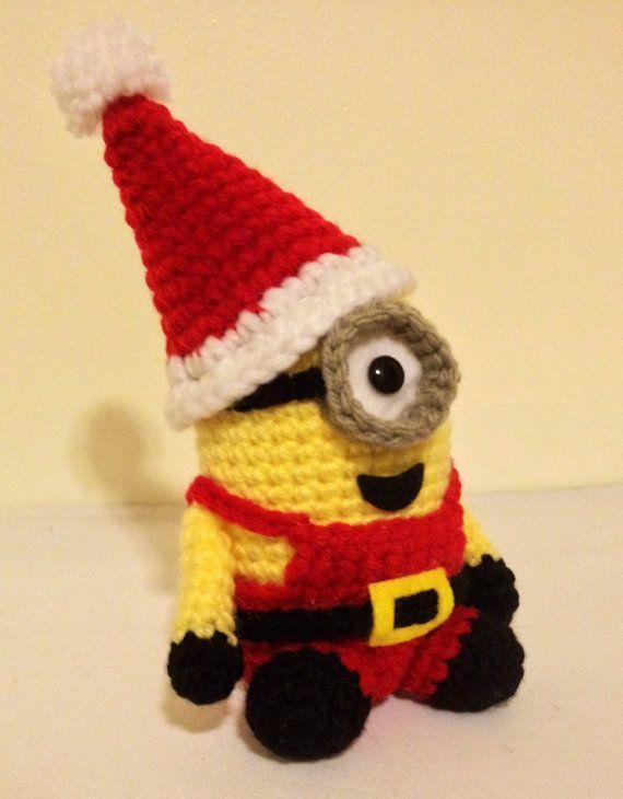 Santa Minion PDF Pattern Crochet for Amigurumi Doll por JAMigurumi ...