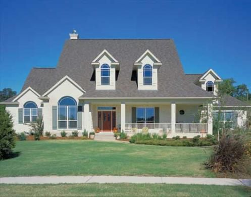 Casa americana modelo lizarra construida por - Casas americanas por dentro ...
