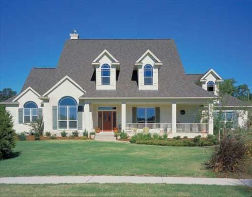 Casa americana modelo lizarra construida por superficie de 339m2 casas - Casas de madera y mas com ...