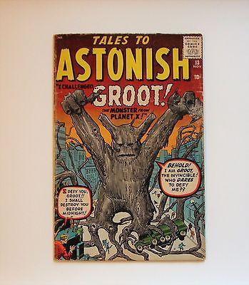 archived! $ 765   1960 Tales To Astonish Comic # 13 (groot Cover). #comics https://t.co/aQvtosnIXG https://t.co/tnFurt3xfE