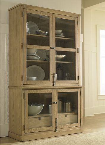 Dining/Kitchen Furniture, North Shore by Nautica China Cabinet ...
