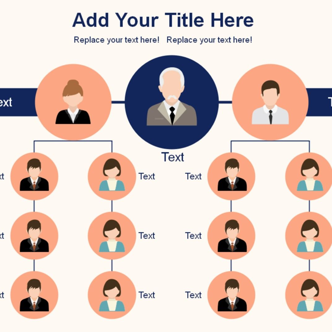 Orgchart Template Editable Org Chart Template Visualize Your