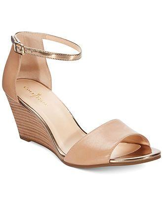 fa557689c3c Cole Haan Women s Rosalin Wedge Sandals - Sandals - Shoes - Macy s  199 2 1 2  inch heel