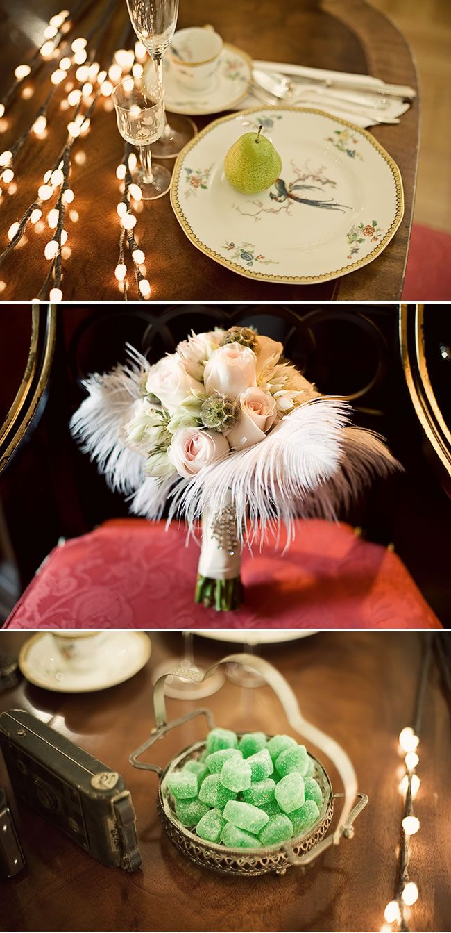 1920s wedding decoration ideas  Gatsby style wedding staged by Ashlee from Sakura Photo  Wedding
