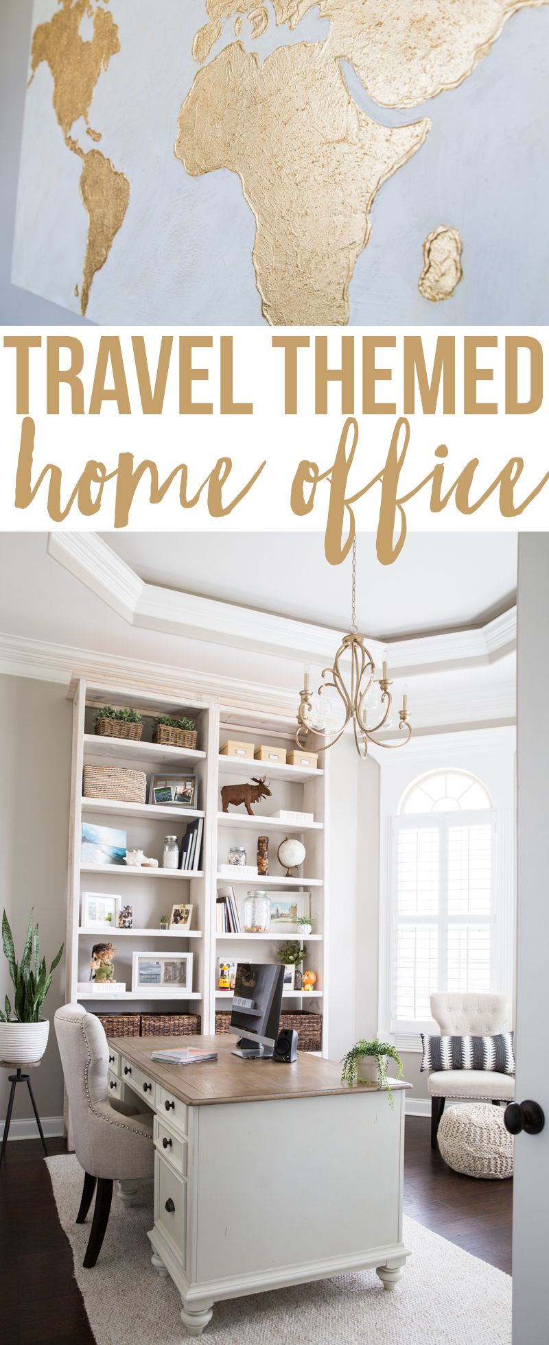 making a home office. Get Inspiration For A Travel Themed Home Office Including How To Display Treasures From Your Travels And Other Ideas Making Vacation Memories The