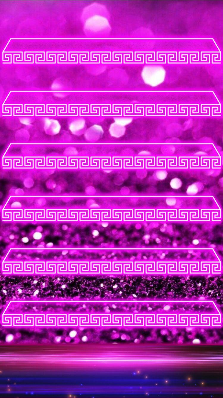 Glitter Sparkle Iphone Shelf Wallpaper Iphone Wallpaper Wallpaper Iphone Cute Colorful Backgrounds