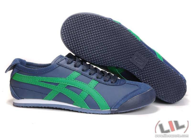 Asics Onitsuka Tiger Mexico 66 HL202 Asics sneakers Shoes - Blue/Green