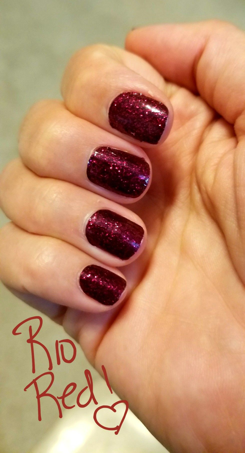 Beautiful Rio Red from Color Street! #prettynails # ...