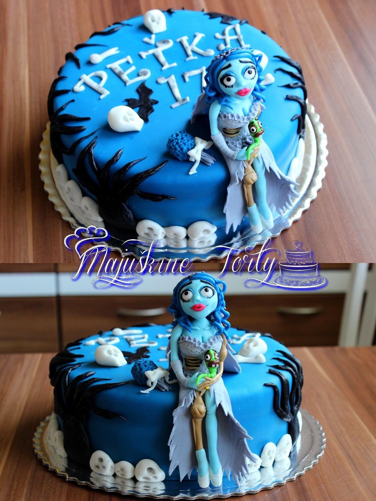 The Corpse Bride cake Birthday cake Tim Burton The Corpse