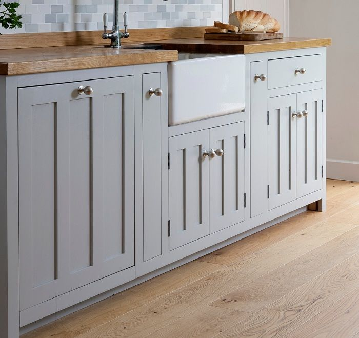 Grey Kitchen Cupboard With Butcher Block Countertops House - Grey kitchen cupboard doors