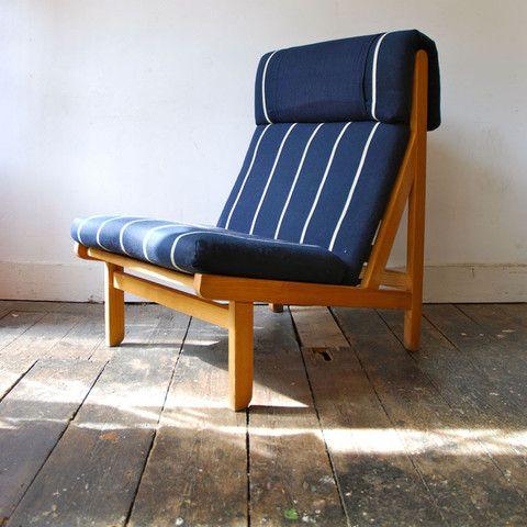 Oak Modular Kludestol Chairs By Bernt Petersen