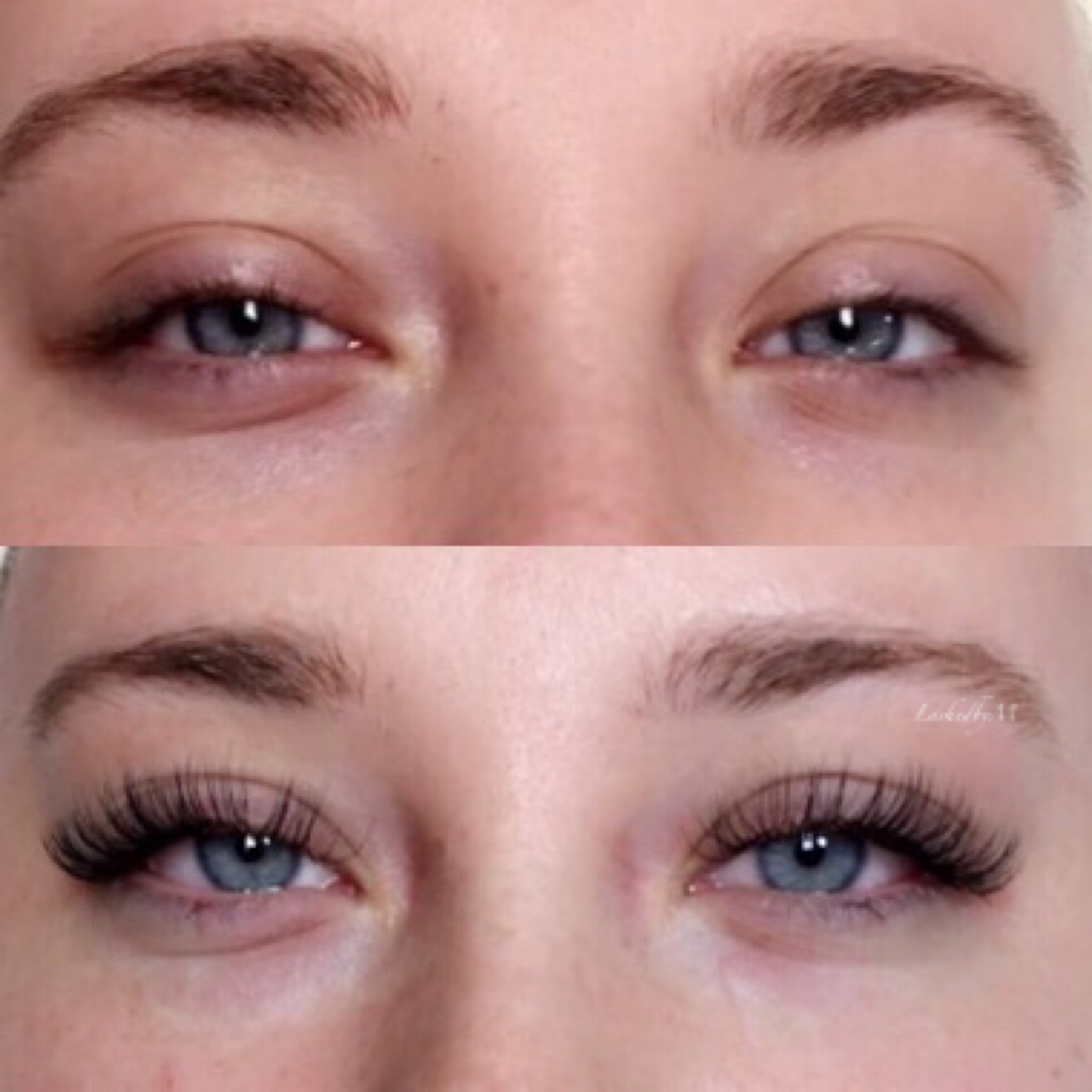 b9380efba77 Before and after lash extensions by Monique Rodgers @lashedbym on IG ...
