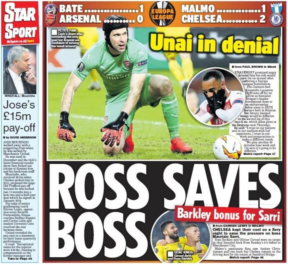 Tuesday's gossip column Gossip column, Europa league, Sports