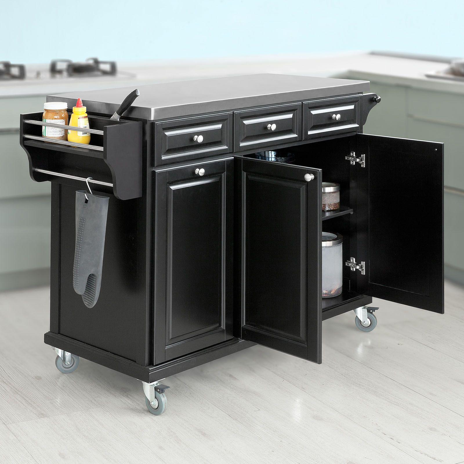 Mobiletto Per Appoggiare Microonde sobuy   carrello cucina   credenza cucina   mobile cucina