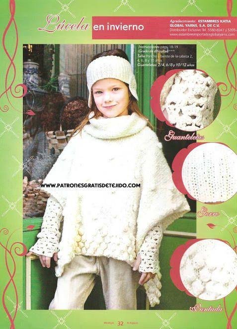 patrones de tejido gratis para niños | New baby | Pinterest | Niños ...