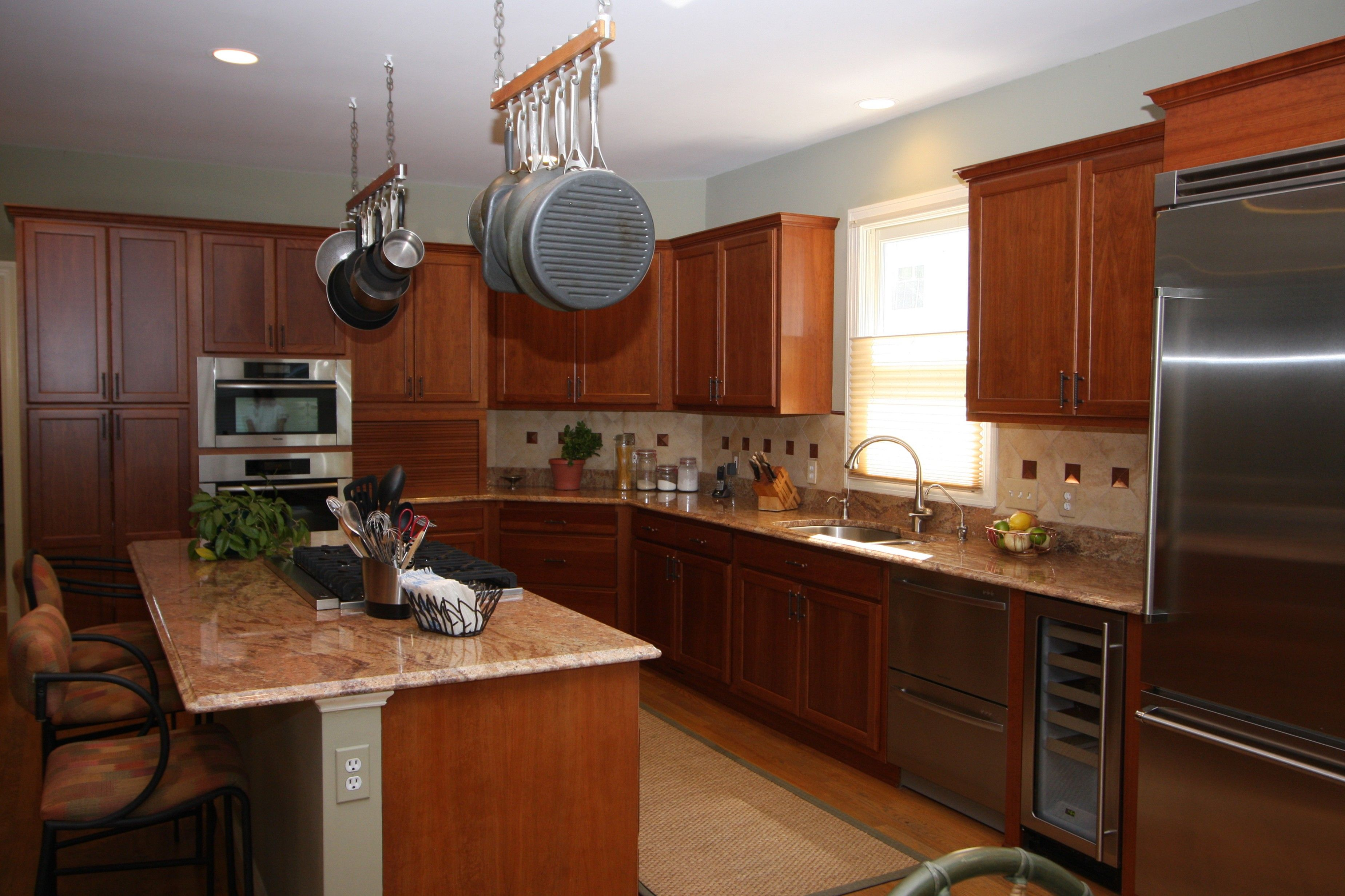 Kitchen Cabinet Refacing Maryland With a beautiful #kitchen #refacing project like this, your home