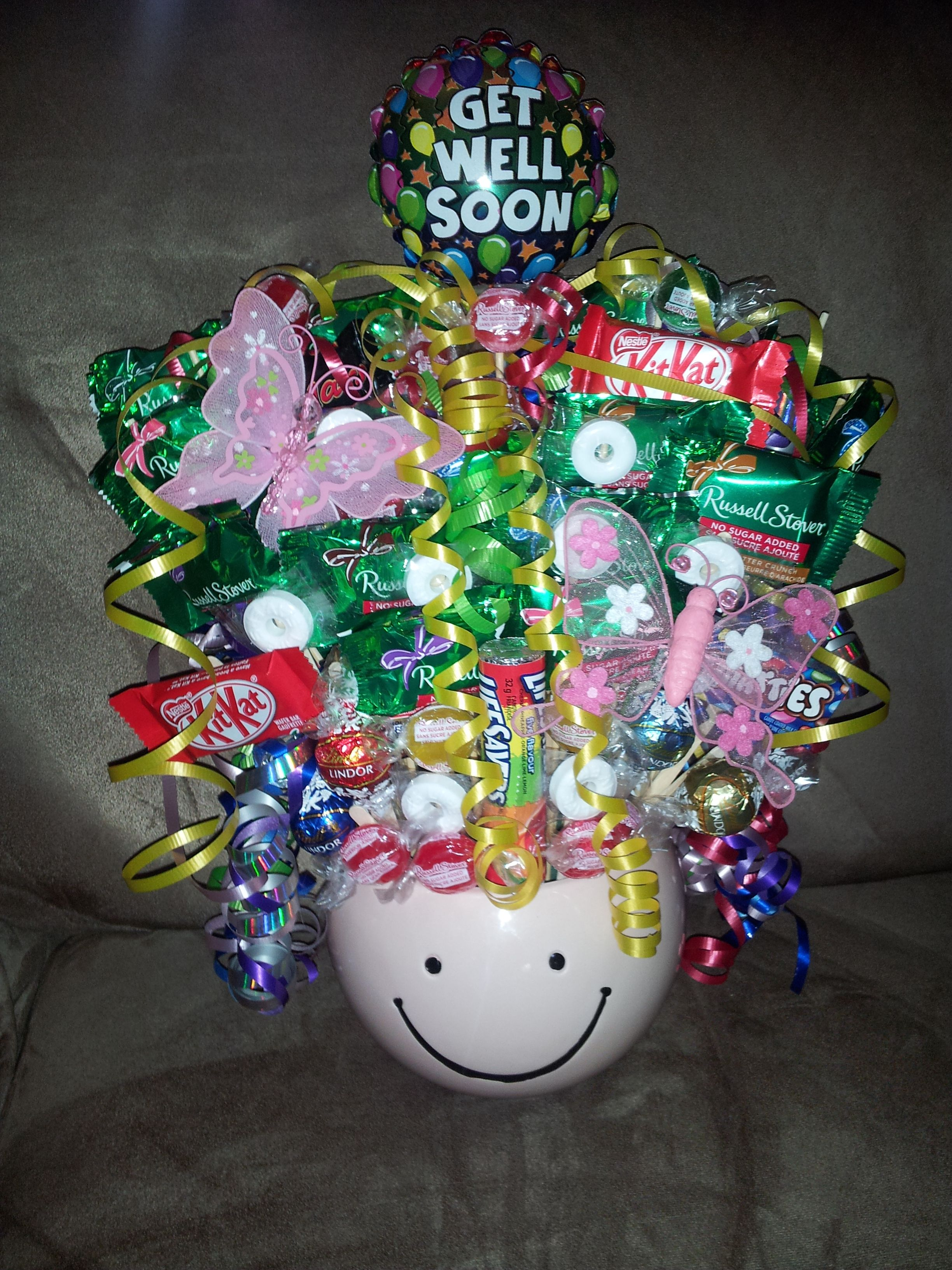 Get well soon candy bouquet featuring sugar free candies get well soon candy bouquet featuring sugar free candies facebook negle Gallery