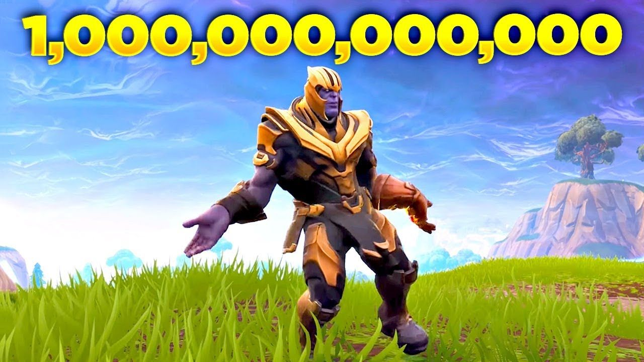 I Played THANOS Doing Orange Justice Dance in Fortnite
