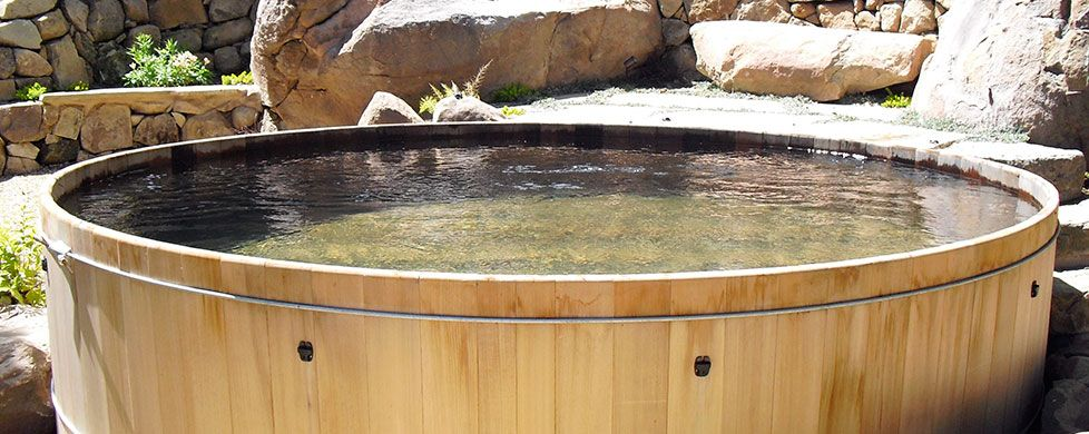 Wooden Hot Tubs From Gordon Grant