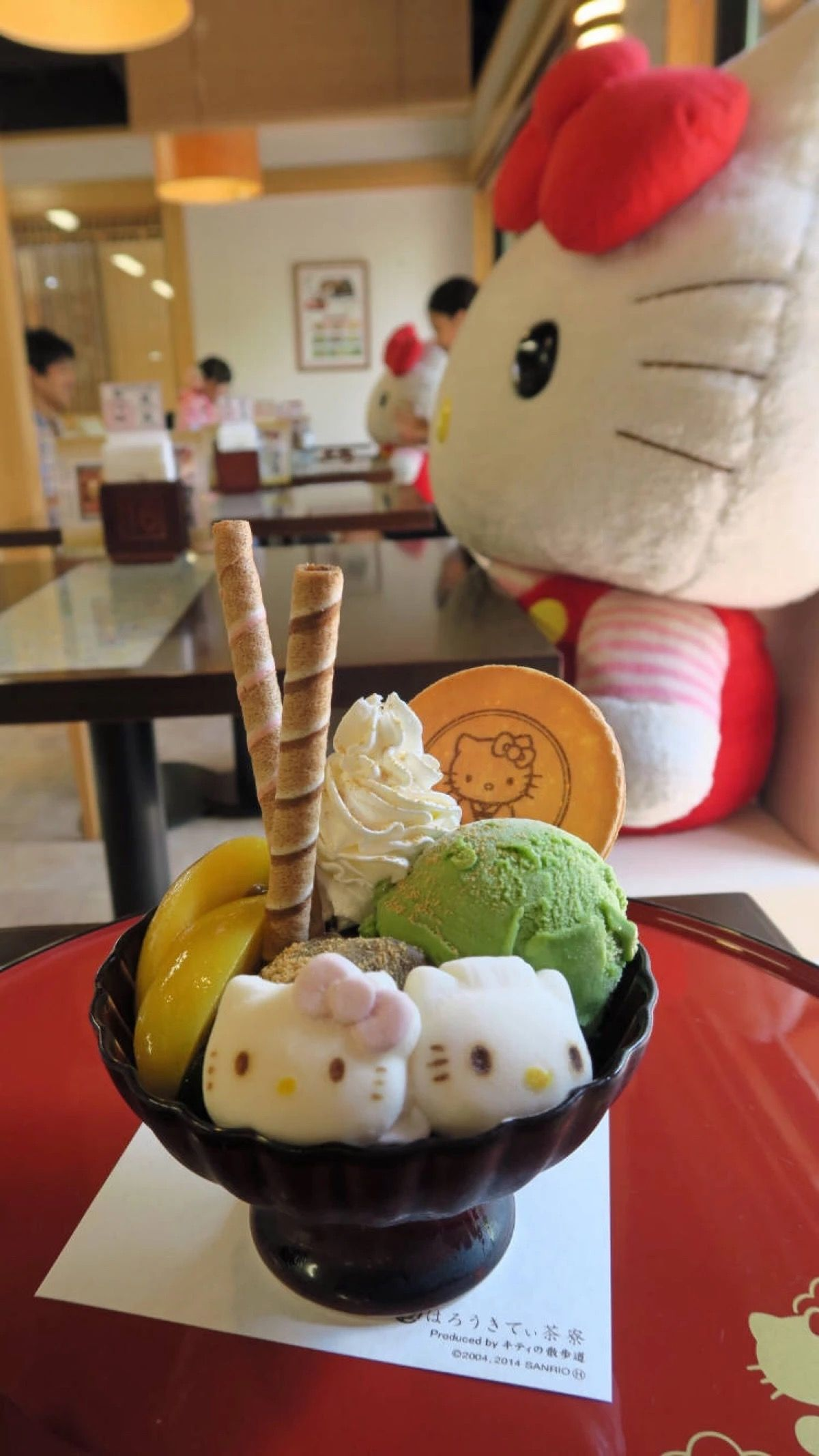 #Estellaseraphim #Hellokitty #Icecream #Yummy