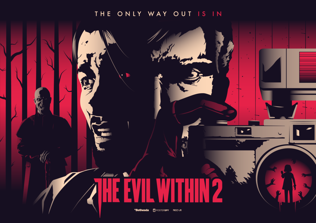 The Evil Within 2 Poster Art By Ricojrcreation The Evil Within Poster Art Evil