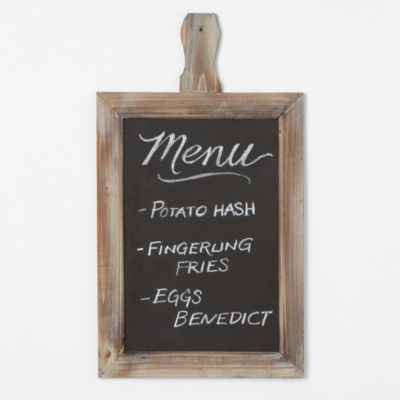 Chalkboard Message Board in House+Home KITCHEN+DINING Novelties at Terrain
