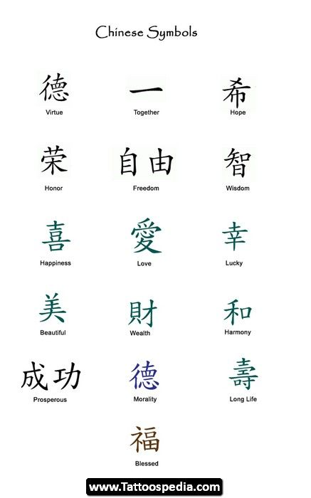 Do It Yourself Word Symbols And: Chinese Symbol Designs Design Ideas (Visited 106 Times, 4