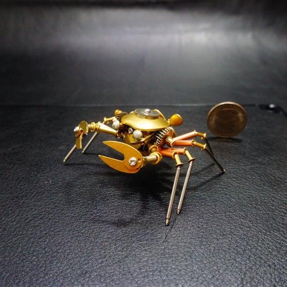 Iron Animals metal arthropod crab in 2020 Steampunk