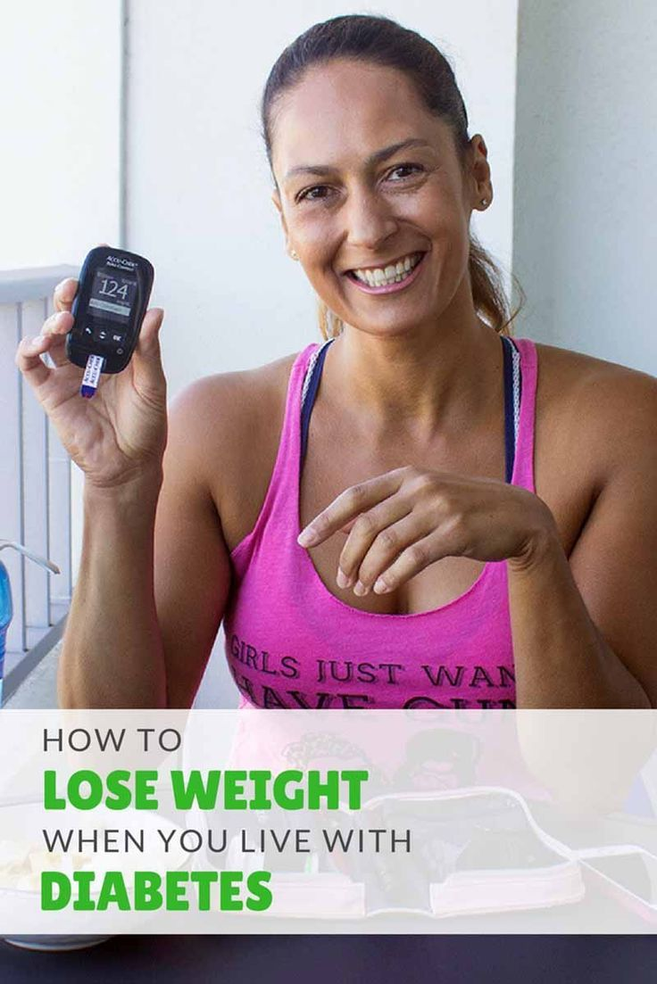 How to Lose Weight with Type 1 Diabetes