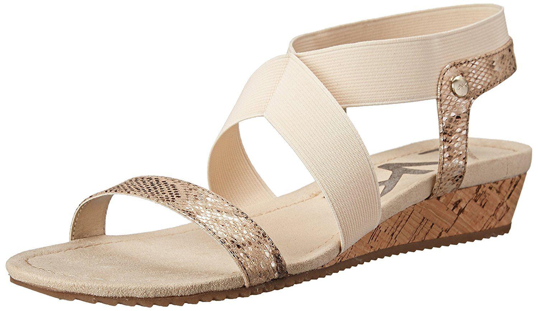 Anne Klein Sport Women's Taboo Fabric Wedge Sandal > You