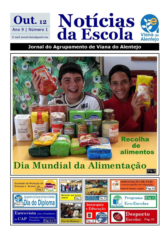 Jornal Notícias da Escola outubro 2012