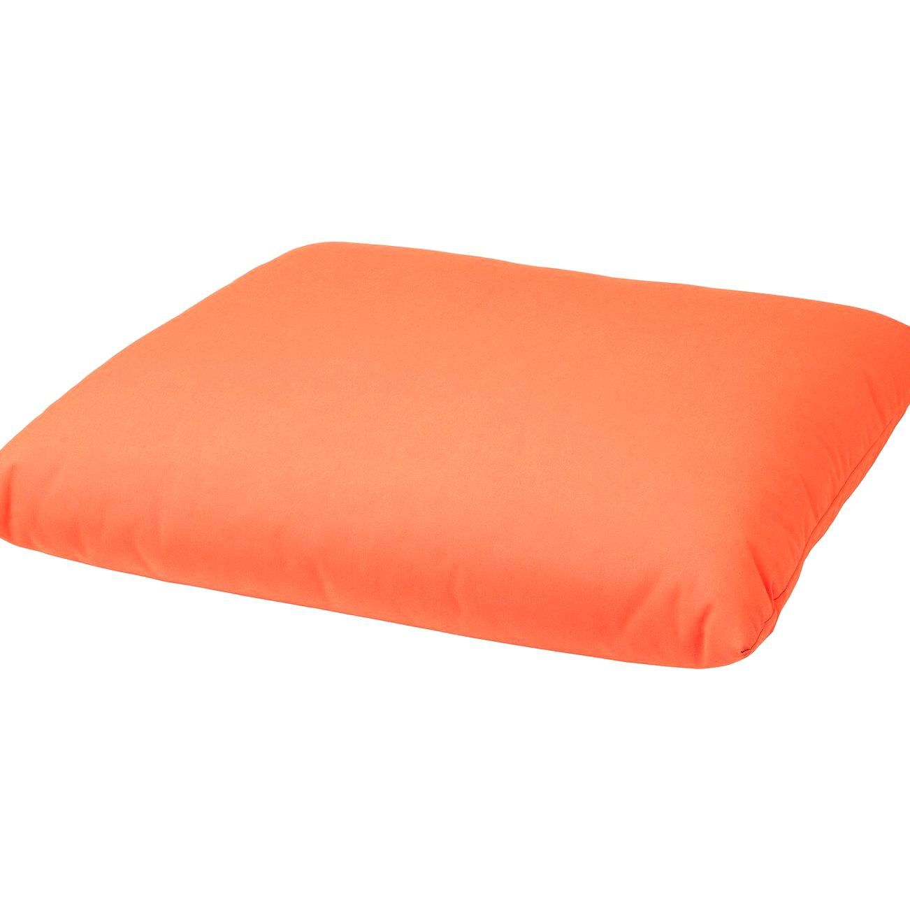 Ikea Sitzpolsterauen Havsten Orange Breite 98 Cm Tiefe 100 Cm In 2020 Cushions Ikea Orange Seating Seat Cushions
