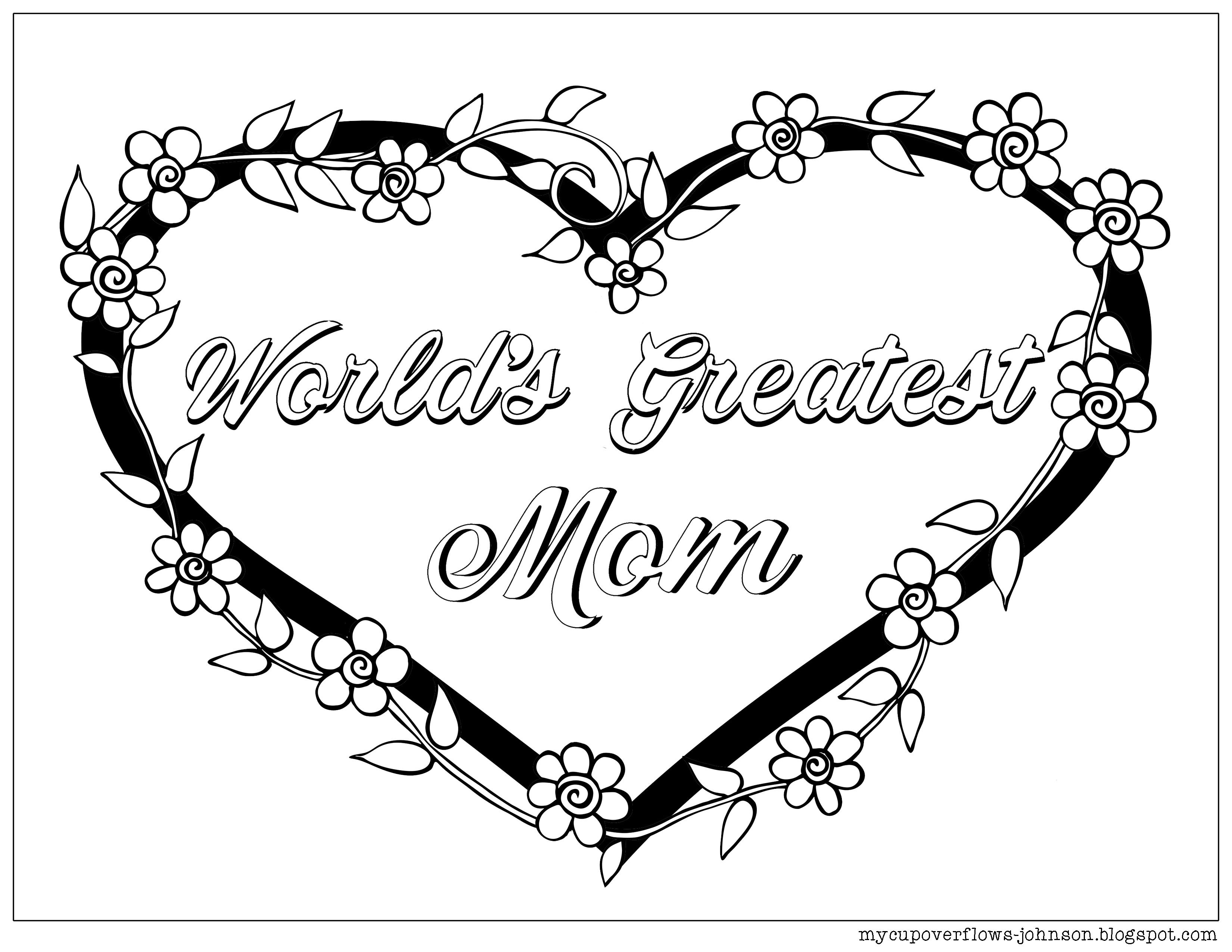 Mother S Day Coloring Pages Mothers Day Coloring Pages Mom Coloring Pages Coloring Pages