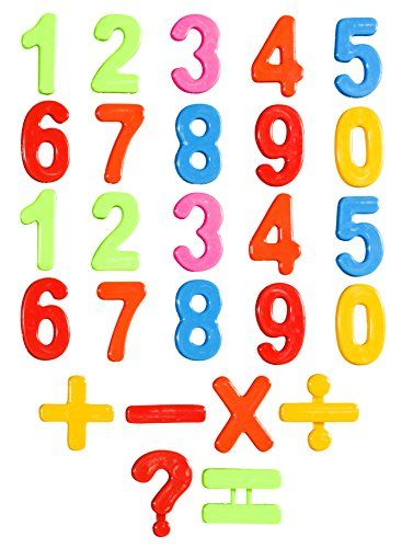26 Piece Magnetic Numbers Refrigerator Magnets For Kitchen Magnetic